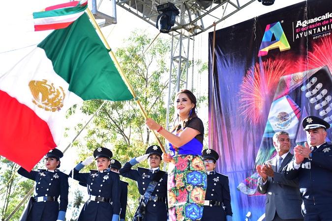 Dio alcaldesa de Aguascalientes el grito de independencia en delegaciones