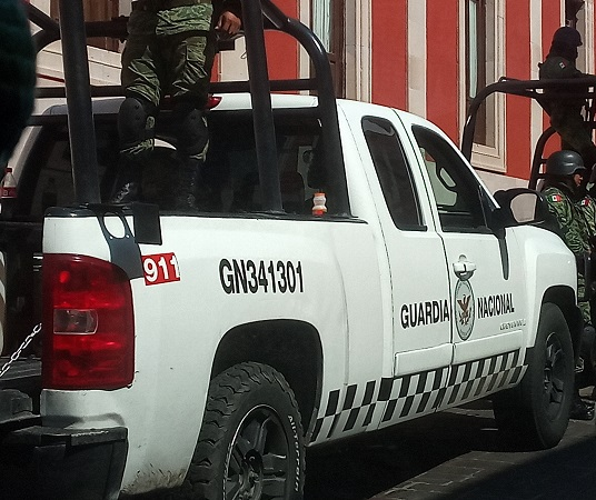 Guardia Nacional en Aguascalientes no se ve: MOS