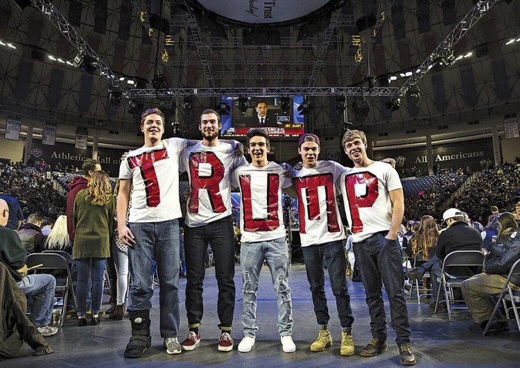 Seguidores jóvenes de Trump: más que una curiosidad política