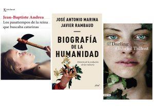 Nuestras recomendaciones literarias: Jean-Baptiste Andrea, José Antonio Marina, Gabriel Tallent…