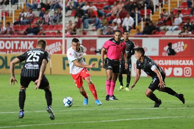 Necaxa y Celaya no se hacen daño en la Copa MX