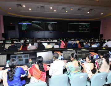 Sonda espacial india fracasa en su intento de llegar a la Luna