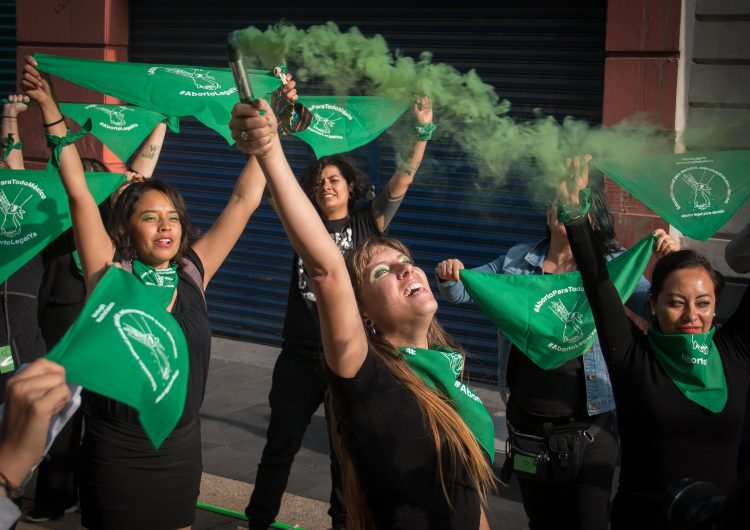 #28S | La marea verde cubre México y América Latina para exigir la despenalización del aborto