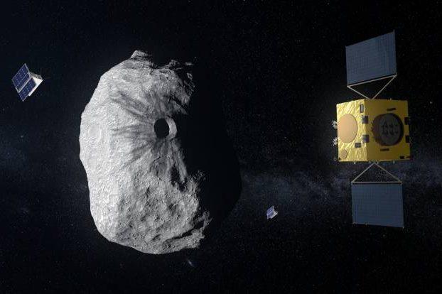 NASA y la Agencia Espacial Europea colaboran en una estrategia para desviar un asteroide del tamaño de la Gran Pirámide de Egipto