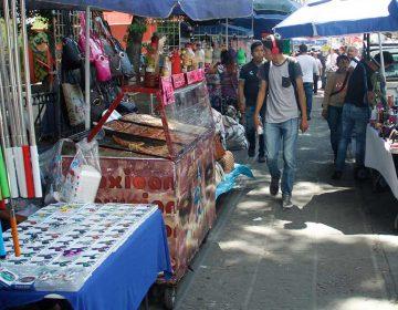 Centro Histórico de Puebla invadido de ambulantes