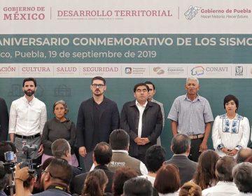 Puebla recibe apoyos para reconstrucción por parte del Gobierno federal