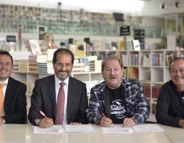 Convenio para abrir Librería FCE-Educal-BUAP