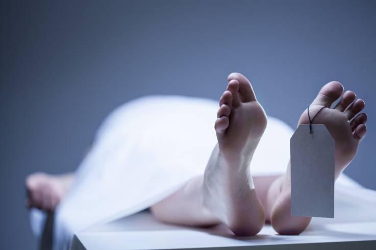 Los cadáveres humanos se mueven después de un año de la muerte