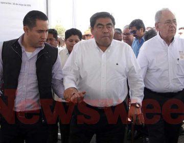 SCT federal inaugura obras carreteras en Puebla