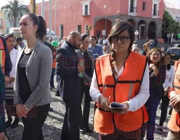Puebla se sumó al Macrosimulacro Nacional