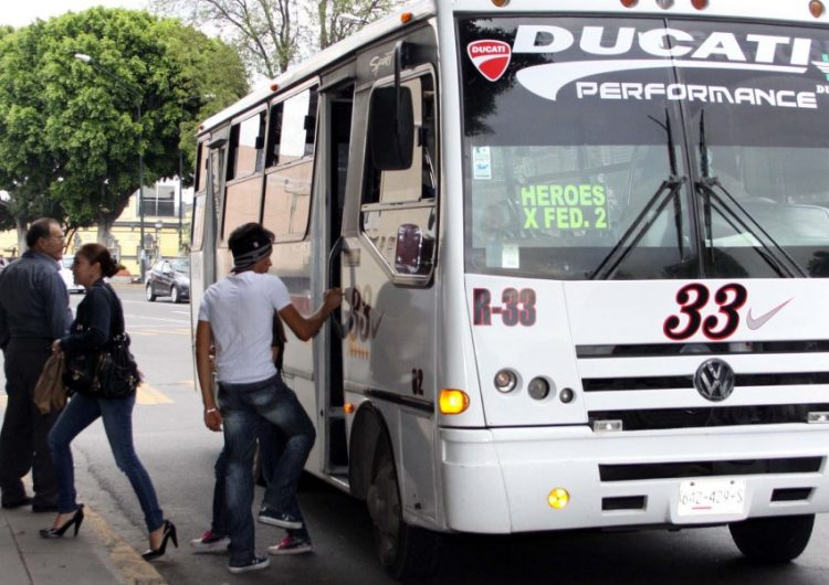 transporte publico puebla