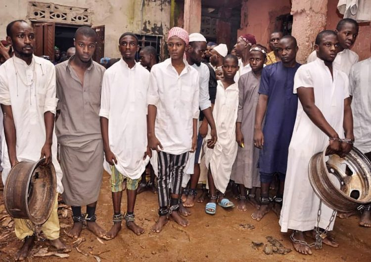 Más de cien personas rescatadas de un reformatorio en Nigeria