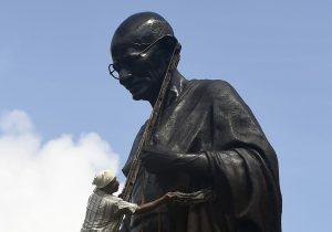 Las cenizas de Mahatma Gandhi fueron robadas en su cumpleaños 150