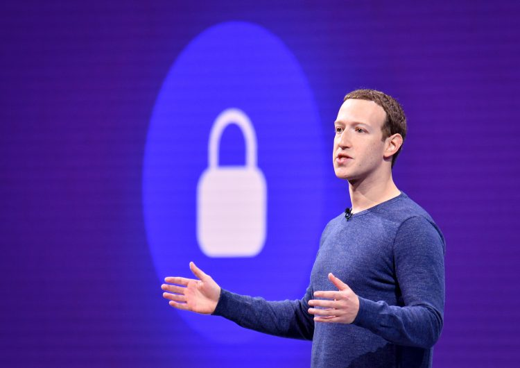 Mark Zuckerberg, CEO de Facebook. Foto: AFP