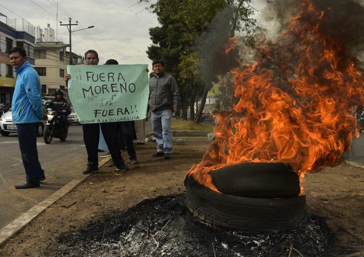 Decretan estado de excepción en Ecuador por alza en precio de combustibles