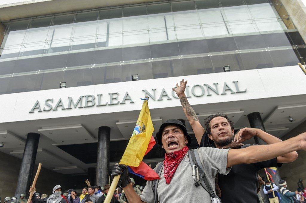 ecuador-economía-protestas-FMI-combustibles
