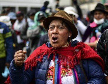 """Indígenas en Ecuador rechazan diálogo con el gobierno y llaman a """"radicalizar las acciones"""""""