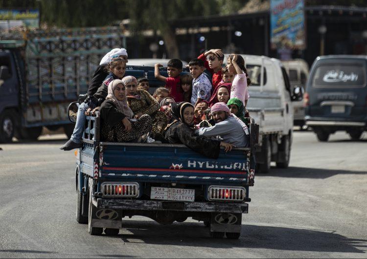 La ONU eleva a 100,000 los desplazados a causa de la ofensiva de Turquía en Siria