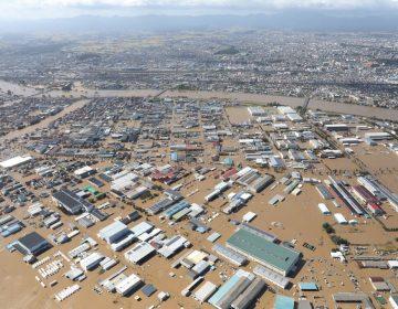 En fotos: La devastación del tifón Hagibis que golpeó Japón y causó al menos 56 muertos