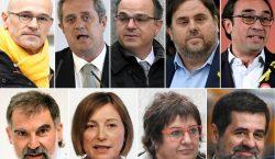 Penas de hasta 13 años de cárcel para líderes independentistas…