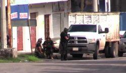 Agentes de la GN y SEDENA se enfrentan en Culiacán;…