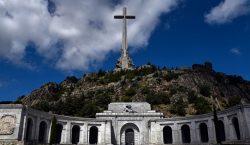 La exhumación de Francisco Franco del Valle de los Caídos…