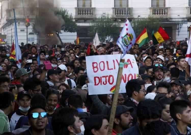 Dimite el vicepresidente del Tribunal Electoral de Bolivia; piden a la OEA auditar comicios