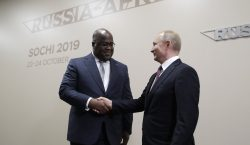 Vladimir Putin inauguró la primera cumbre Rusia-África