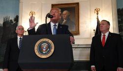 """Trump anuncia un cese al fuego """"permanente"""" en Siria y…"""