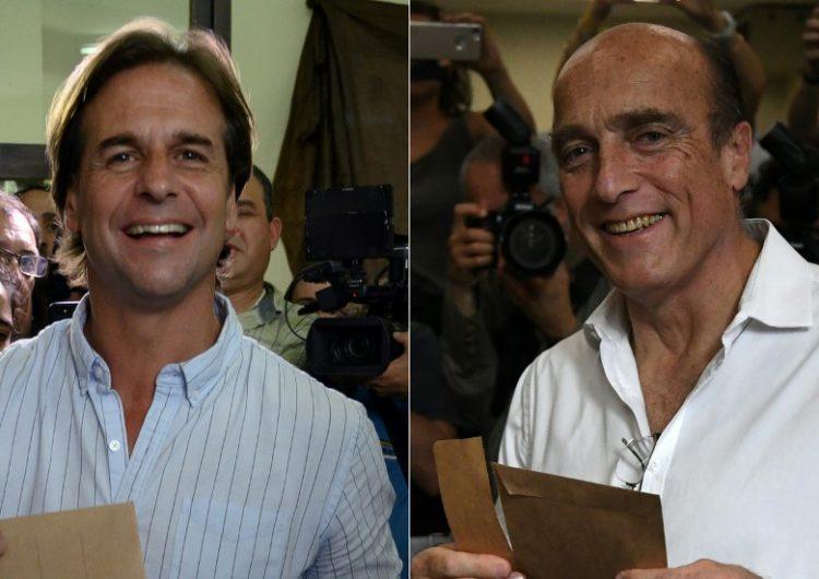 Izquierda y centroderecha van a segunda vuelta por la presidencia de Uruguay