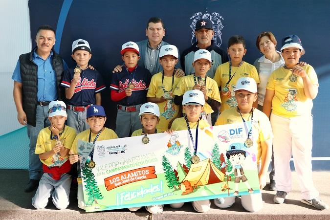 Calvillo se corona campeón de la Copa Comedores de beisbol del DIF Estatal