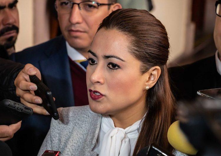 Respetaré decisión del Congreso sobre el fuero: alcaldesa de Aguascalientes
