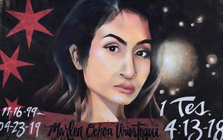 ¡Justicia para Marlén Ochoa!