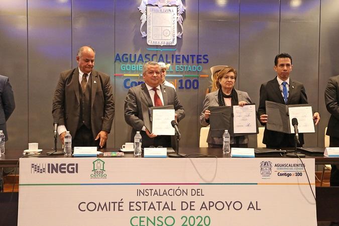 Instalan Comité Estatal para el Censo de Población y Vivienda 2020 del INEGI