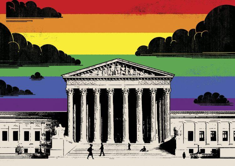 Tres casos de personas LGBT+ ponen a prueba los principios conservadores de la Corte Suprema de EU