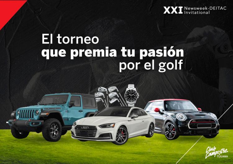 Newsweek Baja California y Deitac harán torneo de golf con 2.9 mdp en premios
