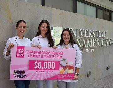 Destacan estudiantes de la UP en concurso gastronómico