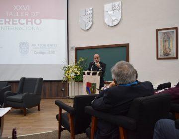 Se realiza taller de Derecho Internacional en la UP Bonaterra