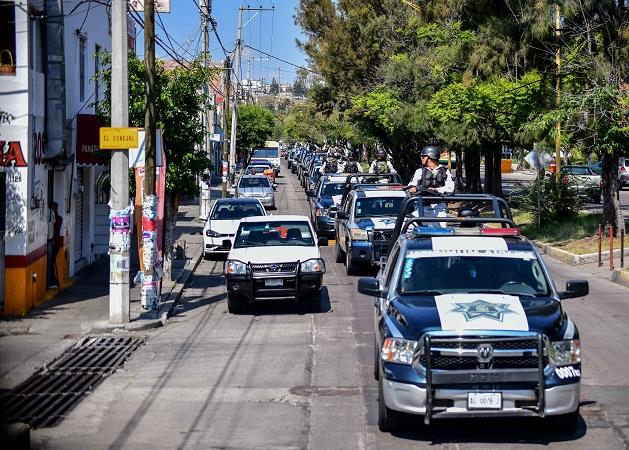 Se suman Ejército y Guardia Nacional a operativos de seguridad en Aguascalientes
