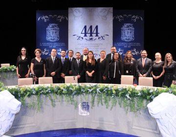 Celebran el 444 Aniversario de la Ciudad de Aguascalientes