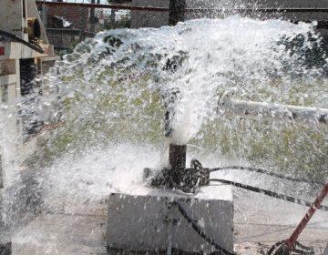 Cambia Veolia bombas de pozos de colonias del norte y oriente de Aguascalientes