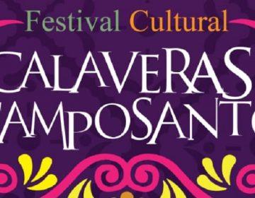 """Realizará municipio de Pabellón festival cultural """"Calaveras al Camposanto"""""""