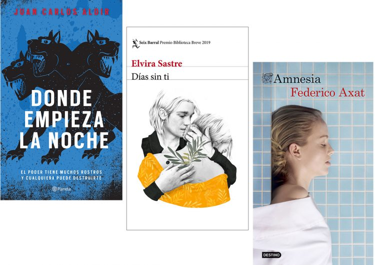 Tres novelas: Juan Carlos Aldir, Elvira Sastre, Federico Axat