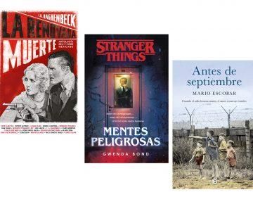 Recomendaciones de libros: F. G. Haghenbeck, Gwenda Bond, Mario Escobar…