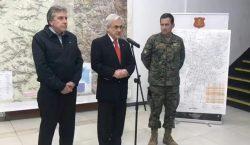 """""""Estamos en guerra"""", dice el presidente Piñera en tercer día…"""