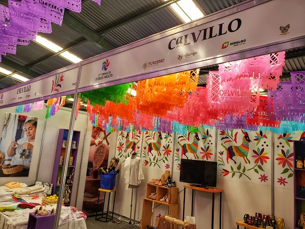 Participa Calvillo en Tianguis de Pueblos Mágicos en Hidalgo