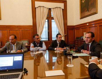 Piden gobernadores más recursos al Secretario de Hacienda
