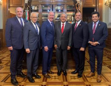 AMLO busca ratificación del T-MEC y promete a la Cámara Baja de EU 900 mdd para reforma laboral