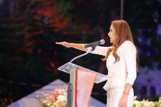 Inicia segunda gestión de Tere Jiménez como alcaldesa de Aguascalientes