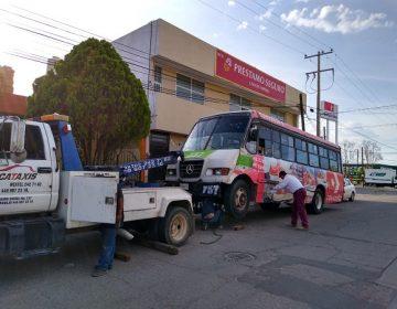 Concesionarios del transporte se amparan para no pagar sanciones por mal servicio
